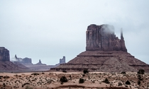 Monument Valley Navajo Tribal Park By P Bhatt