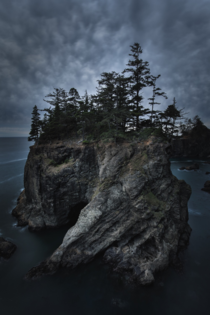Moody days on the Oregon coast Brookings OR