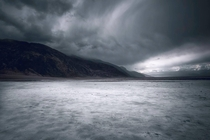 Moody skies in Death Valley NP  x