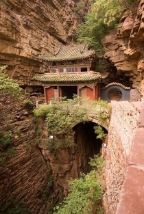Moon Bridge Temple China