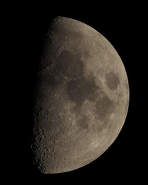 Moon from the Canary Islands a few months ago