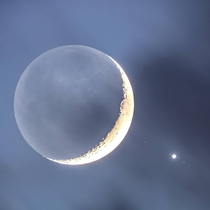 Moon Jupiter and its Gallilean moons