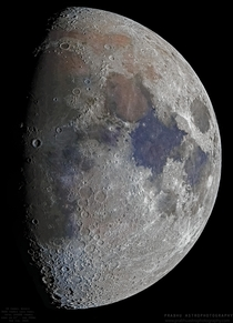 Moon Mosaic in Highest Resolution