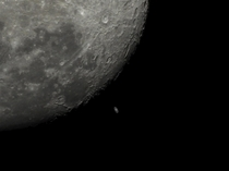 Moon Occults Saturn -  - Brisbane Australia