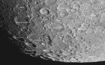 Moon Tycho Clavius and many more