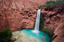 Mooney Falls Havasupai Indian Reservation Arizona
