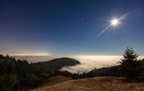 Moonlight Fog in Marin