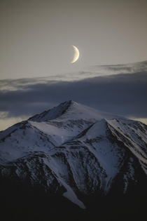 Moonrise in Alaska
