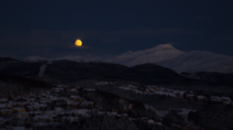 Moonrise pt  - Bod Norway