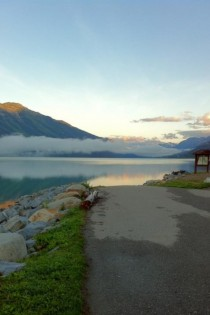 Moose lake British Columbia Canada x