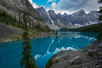 Moraine by far the most beautiful lake I have seen to date - Jaw-dropping  by Michael_GoesOutside
