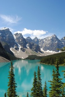Moraine Lake Banff National Park AB