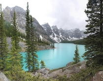 Moraine Lake Banff National Park  by Ron Richey