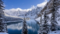 Moraine Lake Banff National Park Canada