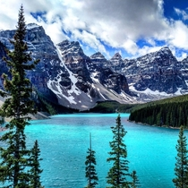 Moraine Lake - Banff National Park Canada