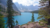 Moraine Lake Banff National Park Canada  August    x