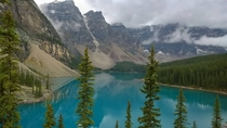 Moraine Lake Banff National Park Canada One of Canadas most beautiful places  OC