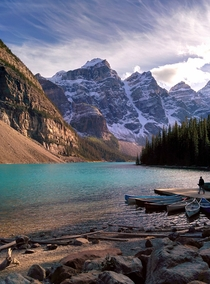 Moraine Lake Banff National Park Canada  taken on Nexus