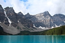 Moraine Lake from the water