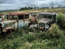 More from the car graveyard in Uruguay