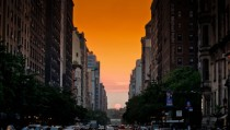 More Manhattanhenge -