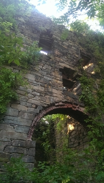 More Photos of the Pumphouse at the Uebberoth Zinch Mine in Freidensville PA Taken around summer of