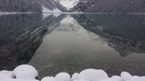 More recent Lake Louise Alberta