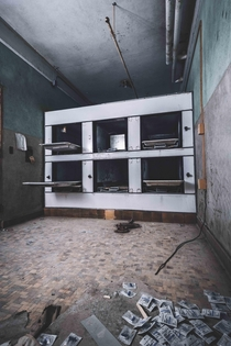 Morgue at an abandoned school for mentally disabled children