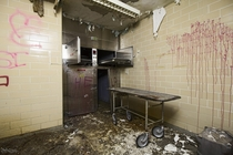 Morgue Inside the Abandoned St Joseph Hospital in Parry Sound Ontario