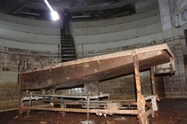 Morgue Teaching Amphitheater Abandoned Hospital New Orleans post Hurricane Katrina