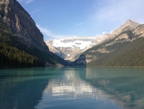 Morning at Lake Louise Alberta Canada