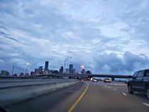 Morning Commute Downtown Houston