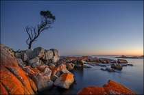 Morning Fire - Coles Bay Tasmania by Andrew Strikis TwoClownsTripping