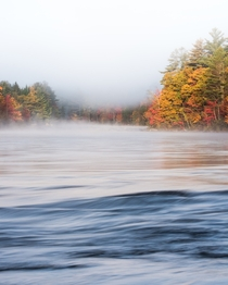 Morning Fog on the Penobscot River Maine