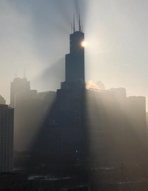 Morning Haze in Chicago