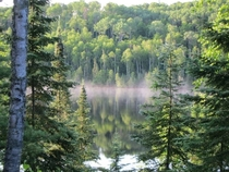 Morning in Boundary Waters Canoe Area