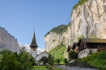 Morning in Lauterbrunnen Switzerland