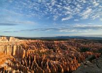 Morning light on the hoodoos
