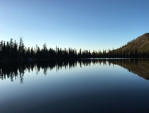 Morning on Toad Lake Shasta-Trinity National Forest