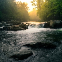 Morning Serenity in the Great Smoky Mountains National Park OCx