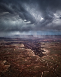 Morning Storms in Canyonlands National Park Utah