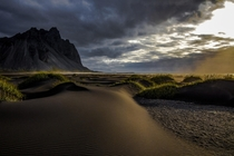 Morning  Vestrahorn Iceland