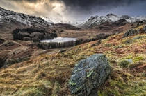 Morning view at Blea Tarn Ambleside England by John Ormerod