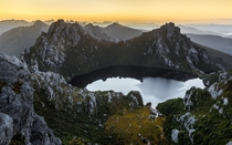 Morning view at Lake Oberon by Gav Owen
