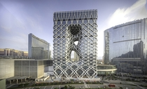 MORPHEUS HOTEL in MACAU by ZAHA HADID ARCHITECTS