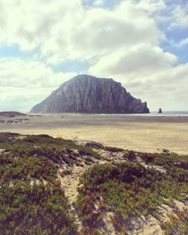 Morro Rock Morro Bay California