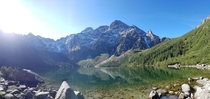 Morskie Oko before the crowds arrived - Tatra Mountains  - x