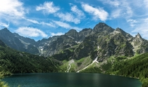 Morskie Oko in Tatra National Park Poland