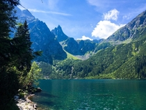 Morskie Oko Poland The Eye of the Sea definitely caught my eye