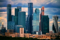 Moscow City - Europes tallest skyscraper district